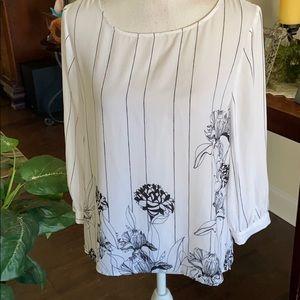 Apt 9 long sleeved blouse